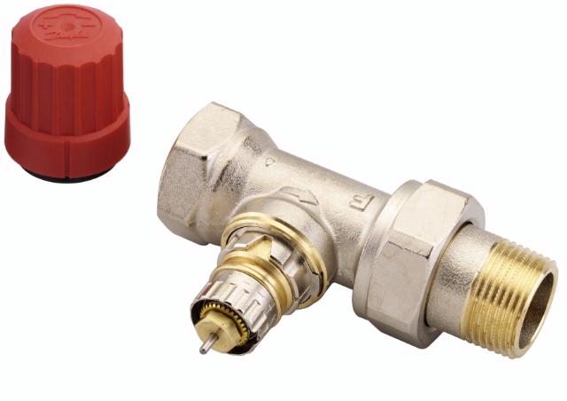 Вентиль для радиатора danfoss клапан терморегулятора прямой rtr-g ду 25