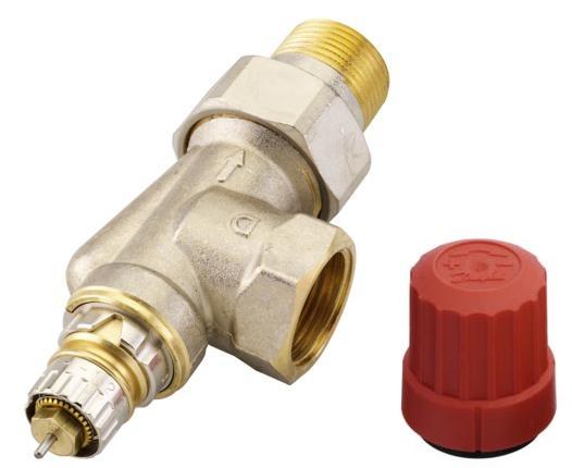 Клапан терморегулирующий ra-n угловой, dn 20 uk